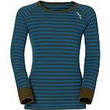 Odlo Suw Top Crew Neck L/S Active Originals - Camiseta para niño, Primavera/Verano, Infantil, Color