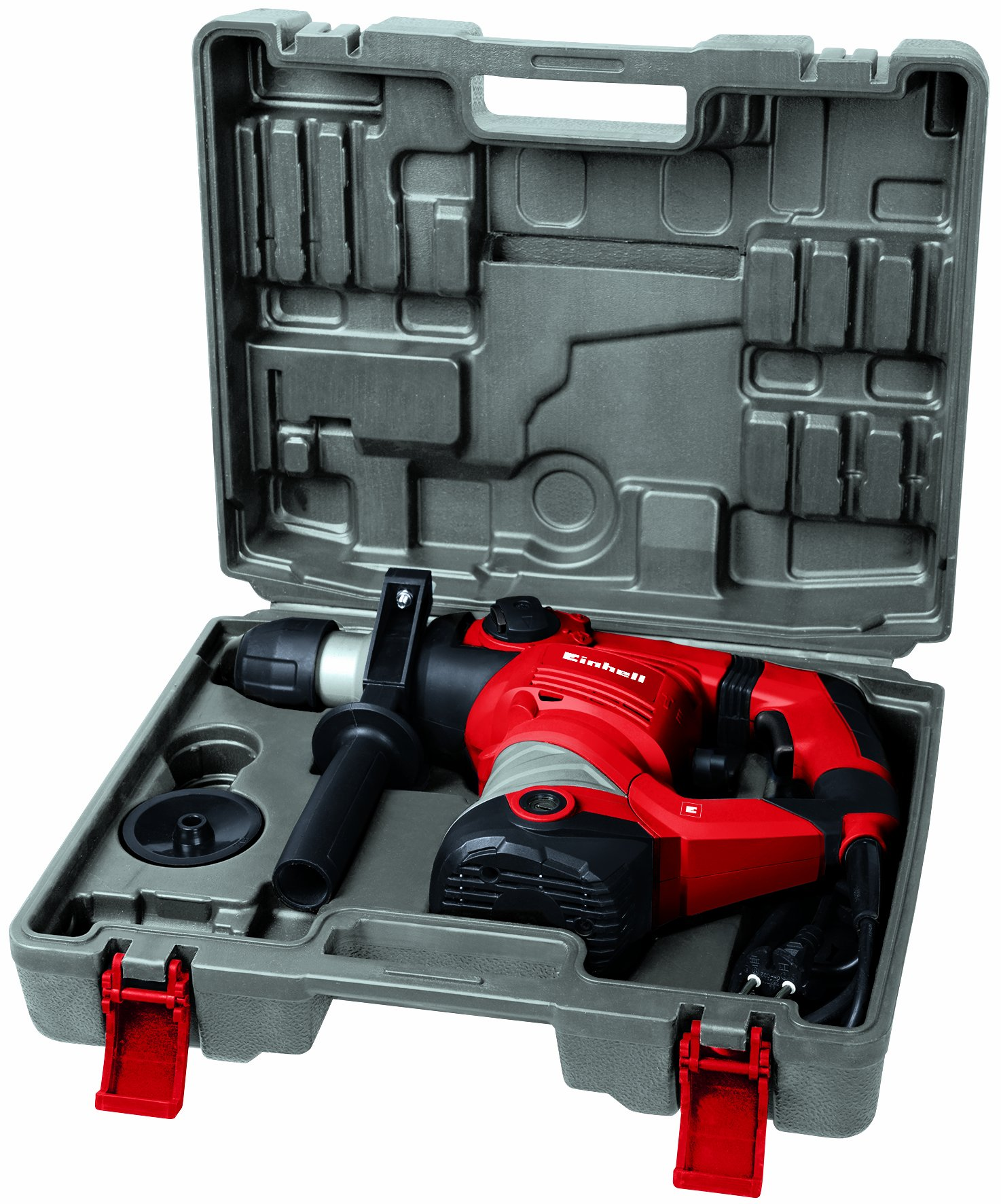 Einhell TC-RH 1600 Martillo Electroneumatico, Potencia 1600 W, Rojo (ref. 4258478)