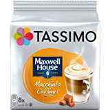 Tassimo Café Dosettes - 40 boissons Maxwell House Macchiato Caramel (lot de 5 x 8 boissons)