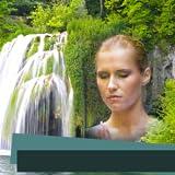 Wasserfall Bilderrahmen