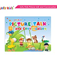 Jolly Kids Picture Talk and Conversation Book for Kids Age 2-6 Years