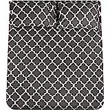 Utopia Bedding Imprimé Ensemble de Draps en Microfibre - Drap Plat, Drap Housse et 2 Taies d'oreiller (pour Lit 135x190 cm, G