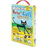 Pete the Cat's Super Cool Reading Collection: 5 I Can Read Favorites!: Too Cool for School/Play Ball!/Pete at the Beach…