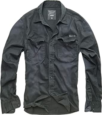 Brandit Hardee Denim Shirt Camicia Uomo