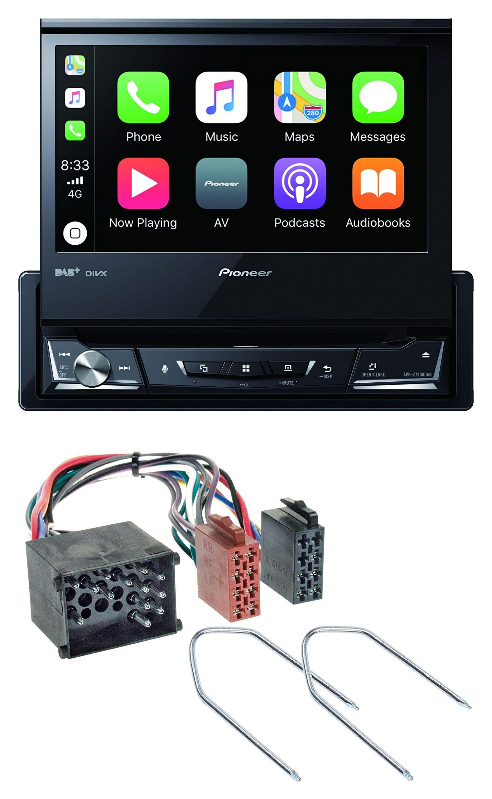 caraudio24-Pioneer-AVH-Z7200DAB-DVD-Bluetooth-DAB-USB-MP3-Autoradio-fr-BMW-E36-1990-2000