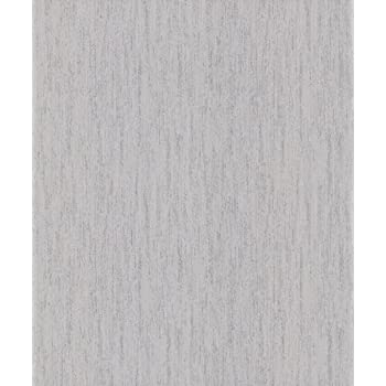 Vymura Panache Plain Wallpaper Platinum Silver Grey