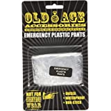 Boxer Gifts Old Age Emergency Pants   Funny Gift for Retirement Birthday Christmas Secret Santa Boxer Briefs, Clear, One Size