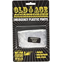 Boxer Gifts Old Age Emergency Pants | Funny Gift for Retirement Birthday Christmas Secret Santa Boxer Briefs, Clear, One…