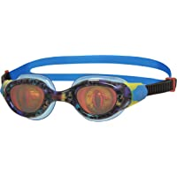 Zoggs Unisex-Youth Sea Demon Junior Hologram Lens Swimming Goggles (6-14 Years)