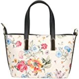 Chicca Borse Borsa a Mano Donna in Pelle Made in Italy 26x16x10 Cm