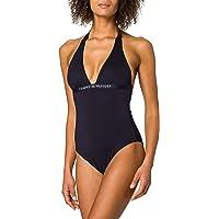 Tommy Hilfiger One-Piece Halter Parte Superiore del Bikini Donna