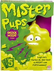 Mattel Games DPX25 - Mister Pups Geschicklichkeitsspiele