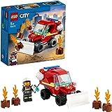 LEGO 60279 City Brandgevaar Bouwset met Speelgoedauto, Brandweerwagen en Brandweerman voor Kinderen van 5 Jaar en Ouder
