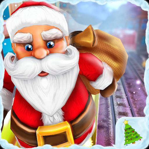 U-Bahn Surf Maze Endless Running Abenteuer 3D: Santa Weihnachten Xmas Run Runner Abenteuer Spiele Kostenlos für Kinder 2018 (U-bahn-spiel-download)