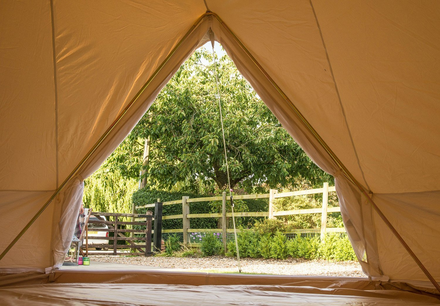 Bell Tent 3 metre with zipped in groundsheet by Bell Tent Boutique 4