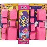 Barbie- Ultimate Color Reveal Bambola con 25 Sorprese, 2 Cuccioli, 15 Sacchettini con Abiti e Accessori, Modelli Assortiti, G
