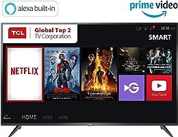TCL 138.71 cm (55 inches) 4K Ultra HD Smart LED TV 55P65US (Black) (2019 Model) | Built-In Alexa