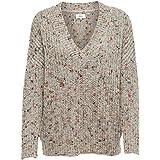Only Onlhanni Viria L/S V-Pullover Knt Noos suéter para Mujer