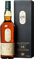 Lagavulin 16 Jahre Single Malt Scotch Whisky – Trockener und rauchiger Islay Whisky mit langem, torfigem Abgang – In...