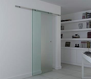 Homcom® Glasschiebetür Schiebetür Glastür Zimmertür Satiniert 775 / 900 /  1025 X 2050 Mm (Modell2/ 775 X 2050 Mm): Amazon.de: Küche U0026 Haushalt