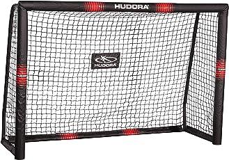 HUDORA 76915, Fußballtor Pro Tect Fußball Tor für Kinder und Erwachsene