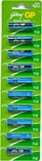 SaleOn™ Godrej GP AA Heavy Duty Battery 10pcs (mrp80+139All Other Charges)-600