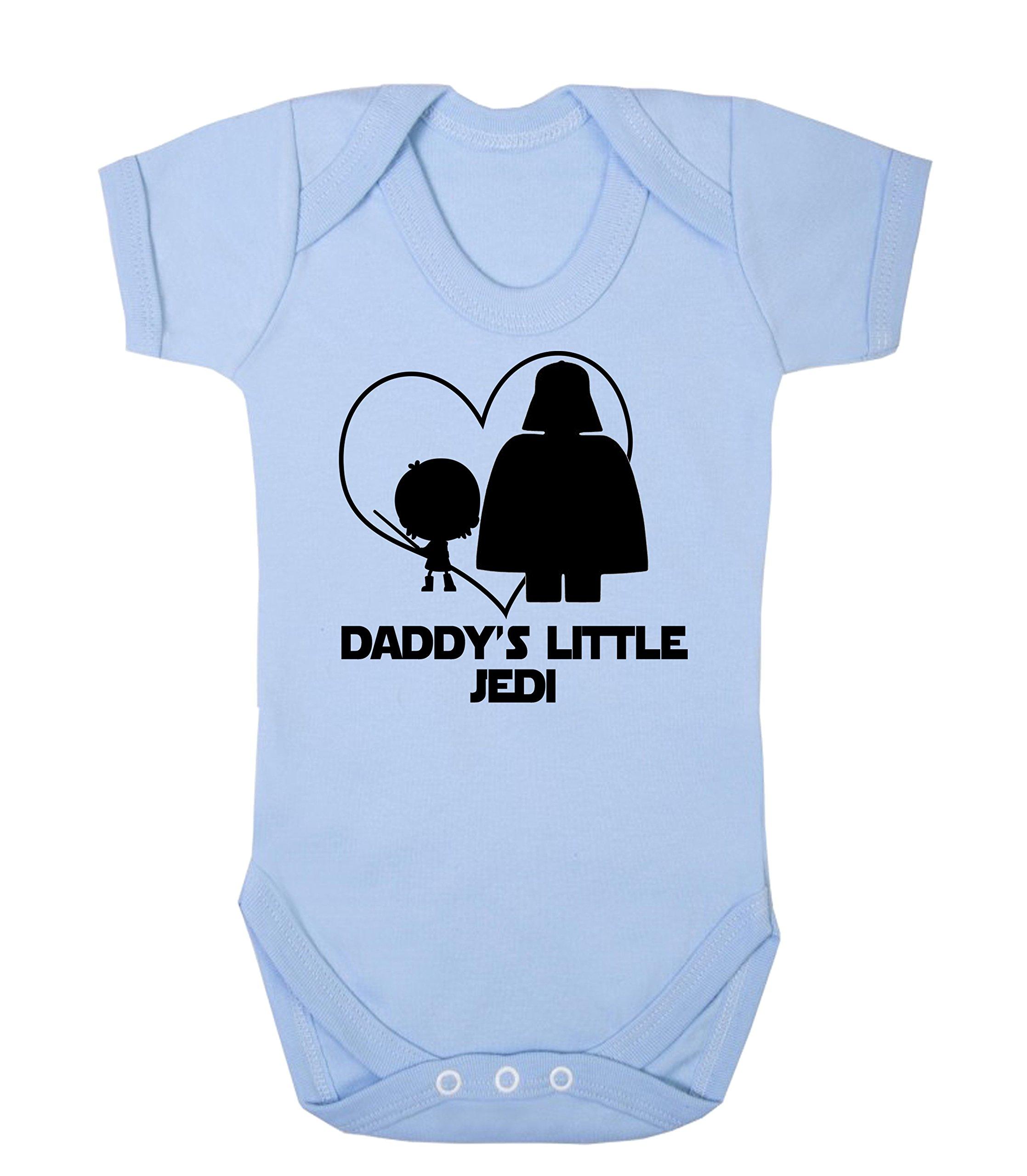 Daddy 's Little Jedi Star Wars bebé chaleco para niño Babygrow Mono Funny Jedi