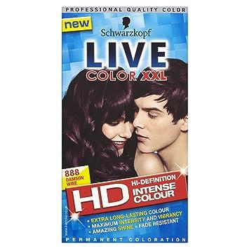 Schwarzkopf Live XXL Colour Unlimited Gloss, Damson Wine Number ...
