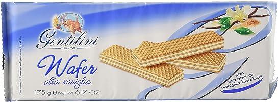 Gentilini Wafer alla Vaniglia - 24 confezioni da 1 per 175 gr - Totale: 4200 gr