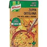 Knorr - Zuppa Ortolana, con Orzo, Farro e Verdure - 500 ml