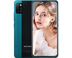 Mobile Phone, HAFURY 4G Smartphone SIM Free Unlocked Cheap Phones, Android 10, Triple Cameras, Dual SIM, 2G+16G/128G Extensio