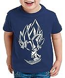 WhyKiki Super Son T-Shirt pour Enfants Goku Dragon Master Ball Vegeta Turtle Roshi DB
