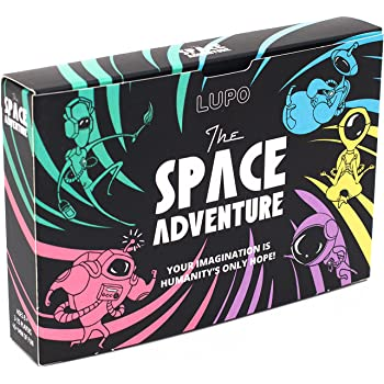 LUPO: The Space Adventure - A Card Game In Which Your Imagination is Humanity's Only Hope!