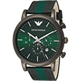 Emporio Armani Men's Dial Leather Band Watch - AR1950