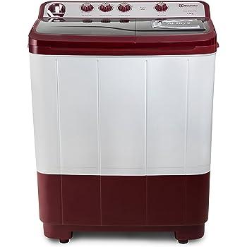 Electrolux 7.3 kg Semi-Automatic Top Loading Washing Machine (Euro Glam WM ES73GLDG, Grey)