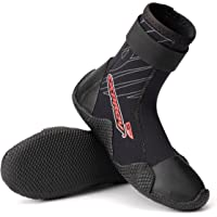 Osprey Kid's Neoprene Wetsuit Boots - Aqua Water Boots with Reinforced Toe and Heel