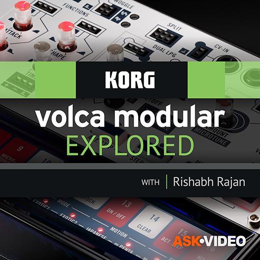 Volca Modular Course by Ask.Video 107 Modulare Audio