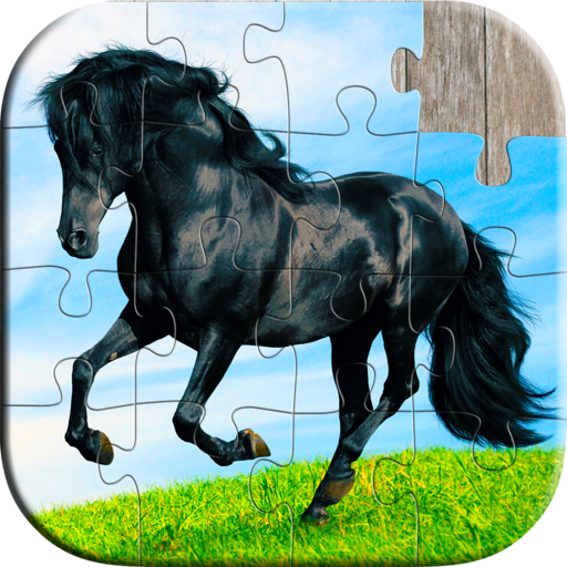 Cute Horse Puzzles for Kids - Full version (Freetime Edition) - Fun and Educational Jigsaw Puzzle Game for Kids and Preschool Toddlers, Boys and Girls 2, 3, 4, or 5 Years Old