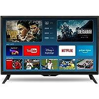 VW 60 cm (24 inches) HD Ready Smart LED TV VW24S (Black) (2021 Model)
