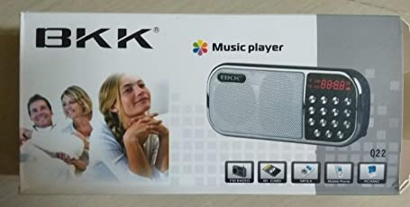 BKK Speaker with FM Radio(Model No May Vary) SD Card, USB,Line in (Rechargeable)