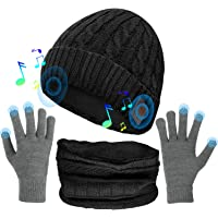 Musica Cappello, Cappello Bluetooth con Altoparlanti Stereo Integrati, Regali Unici per Uomo/Donna, Cappello Sportivo…