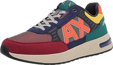 ARMANI EXCHANGE Sneaker Uomo ecosuede/Tessuto Multicolore U21AX05