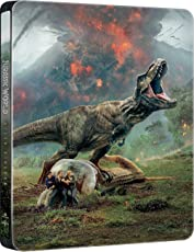 Jurassic World: Il Regno Distrutto (Steelbook)  ( Blu Ray)