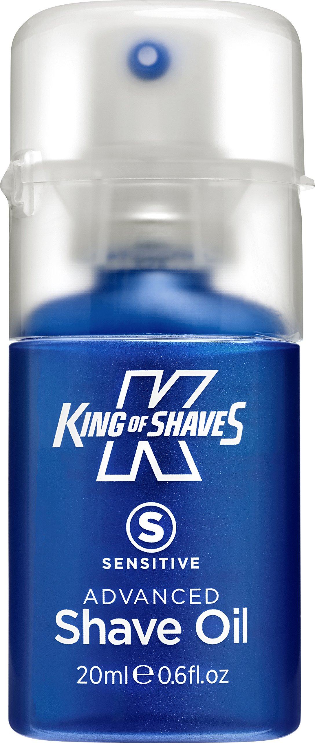 King Of Shaves Sensitive Advanced Shaving Oil Handy Pump 20 Ml
