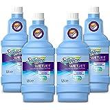 Swiffer WetJet Nettoyant Sol pour Balai Spray, 5L (4 x 1.25L), Tous Types de Surfaces, Vent de Fraicheur