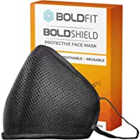 Boldfit Reusable Face Mask for Men and Women. Protect from pollution and germs. Reusable and Washable upto 30 days. Easy Breathable (Pack of 1)