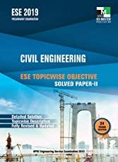 ESE 2019 : Civil Engineering ESE Topicwise Objective Solved Paper - 2