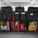 SURDOCA Car Boot Organiser 3rd Gen [7 times Upgrade] Super Capacity Car Organiser, Equipped With [Robust Elastic Net & 4…