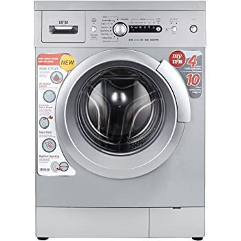 IFB 6 kg Fully-Automatic Front Loading Washing Machine (Diva Aqua SX, Silver)
