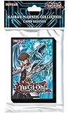 Yugioh Sachet de 50 Protège-cartes illustration Kaiba & Dragon Blanc Aux Yeux Bleus